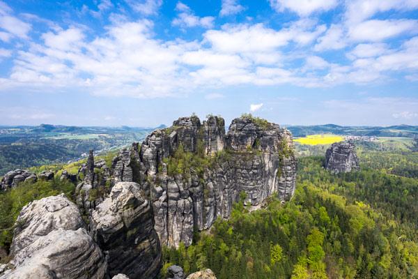 Malerweg - Schrammsteine