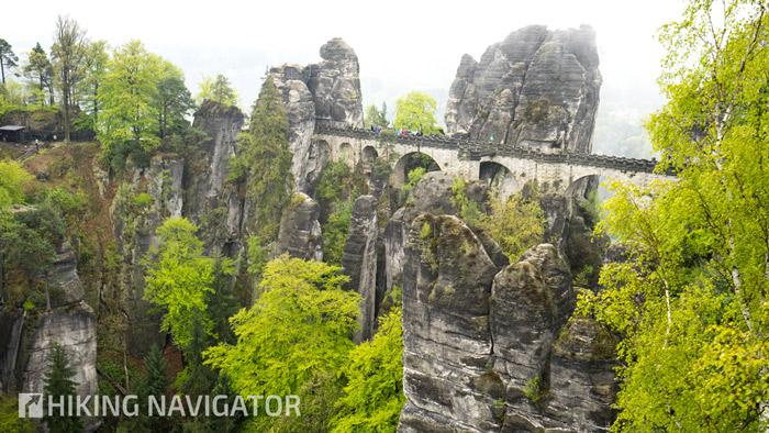 Basteibrücke auf dem Malerweg