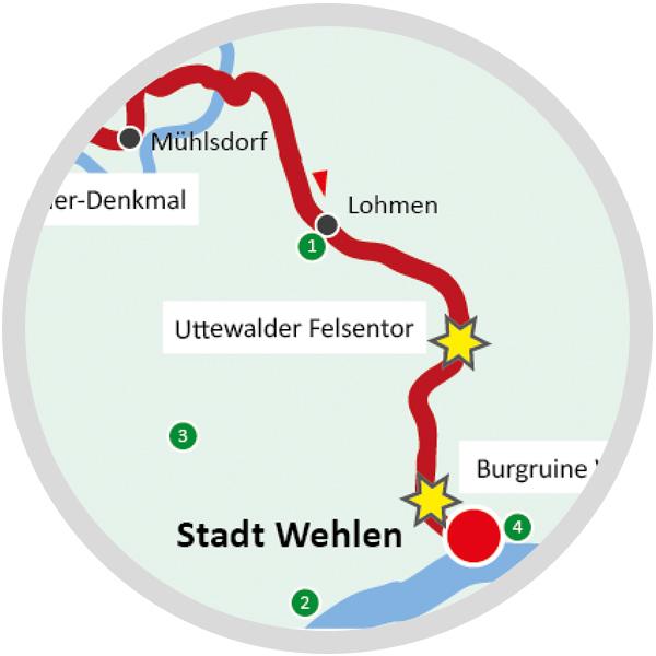 Wanderführer Karten