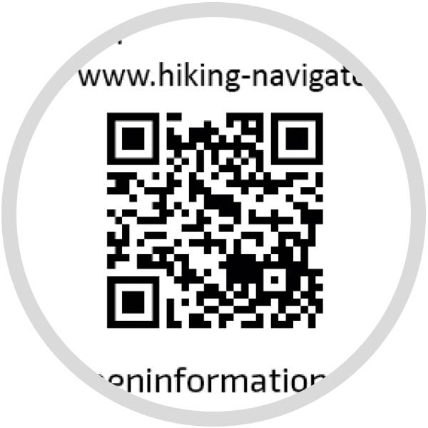 Wanderführer QR-Code