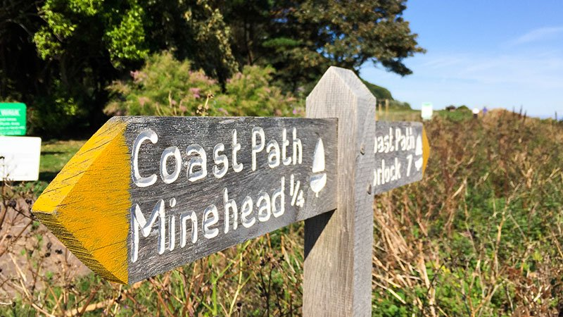 South West Coast Path - Etappe 1