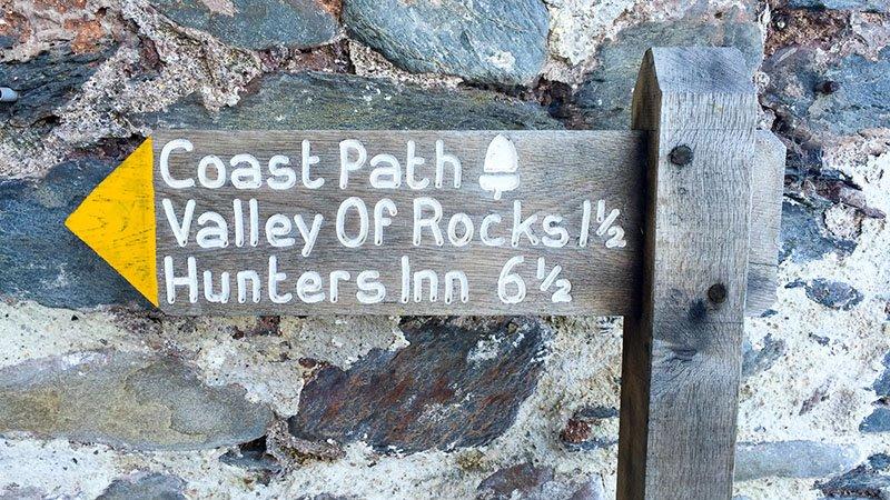 South West Coast Path Etappe 3