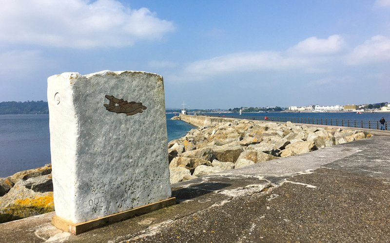 South West Coast Path - Etappe 36 - Plymouth
