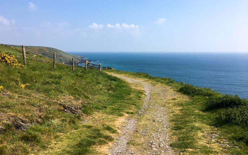 South West Coast Path - Etappe 37 - River Yealm - Bigbury - Revelstoke Drive