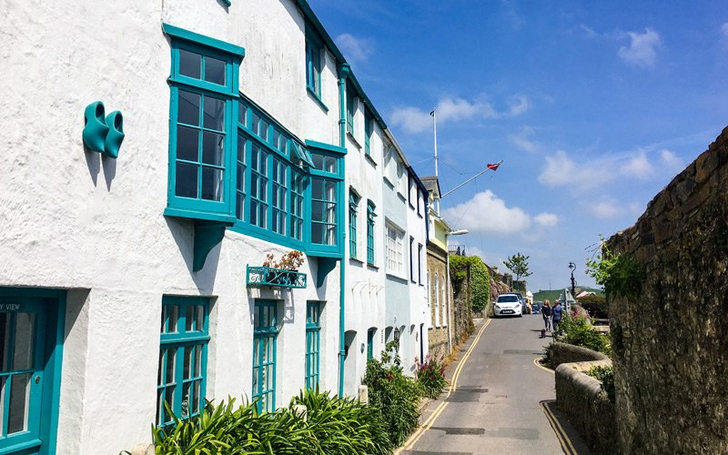 South West Coast Path - Etappe 38 - Salcombe