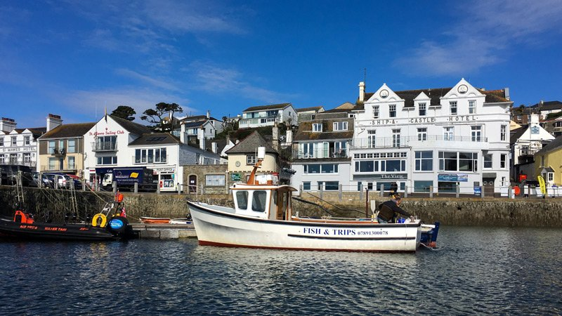 South West Coast Path - Etappe 30 - Falmouth-Portloe - St. Mawes