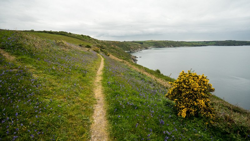 South West Coast Path - Etappe 31 - Portloe-Mevagissey