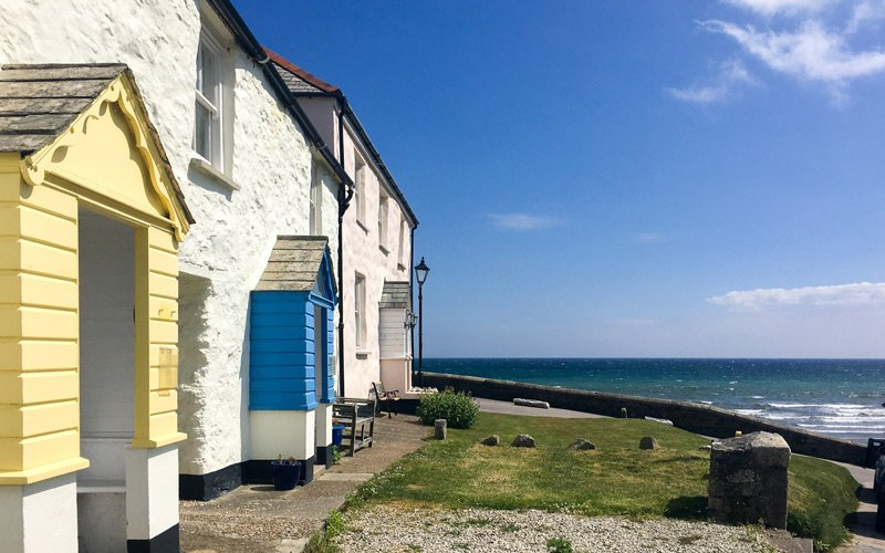 South West Coast Path - Etappe 32 - Mevagissey-Par - Charlestown