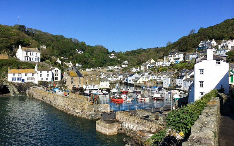 South West Coast Path - Etappe 34 - Polperro